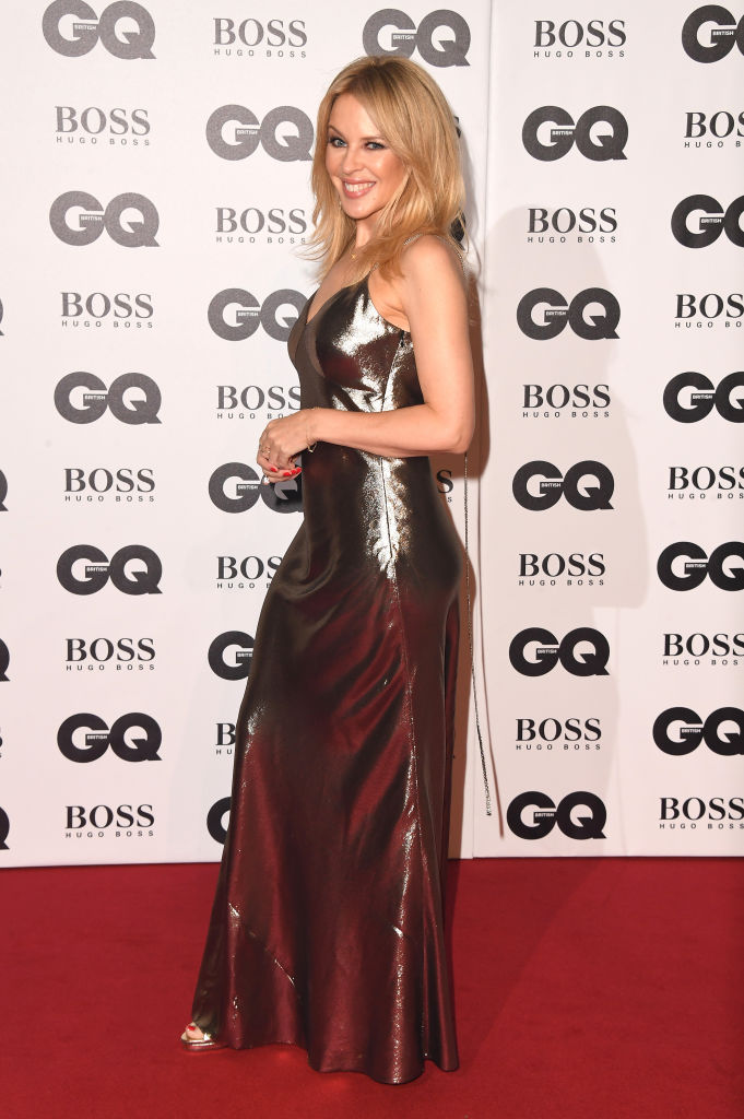 Kylie Minogue attends the GQ Men of the Year awards at the Tate Modern on September 5, 2018, in London (Getty Images)