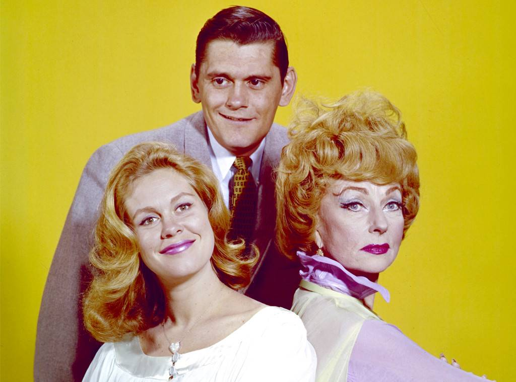 Bewitched the TV show starred Elizabeth Montgomery, Dick York and Erin Murphy.