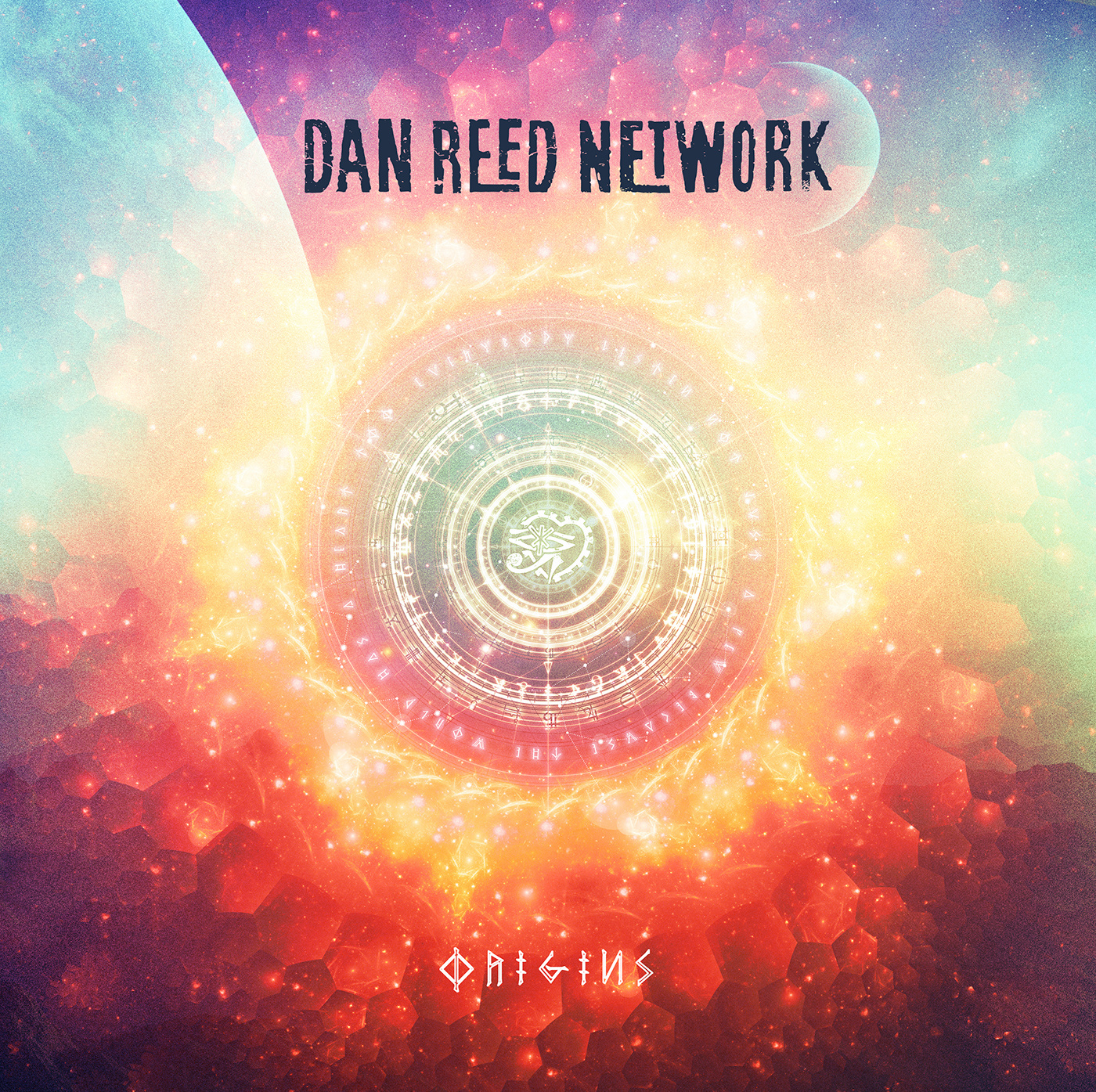 Album art for Dan Reed Network's 'Origins'.