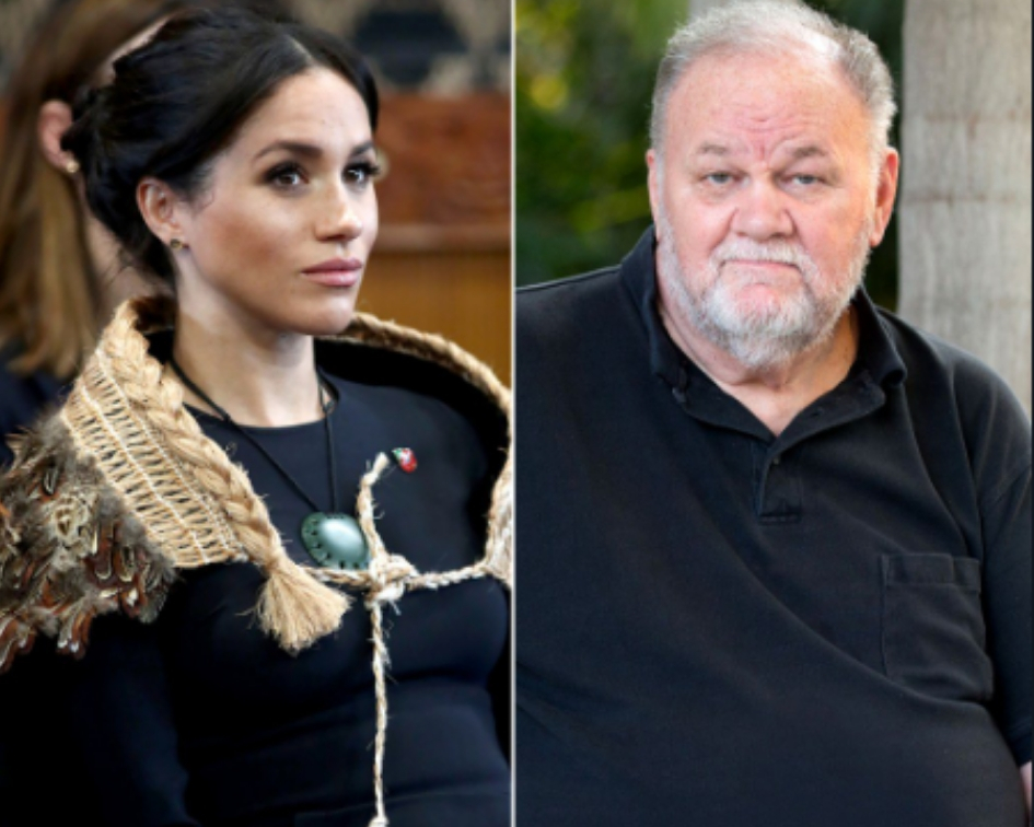 Junor said that Meghan's ongoing rift with her side of the family, mainly with her father Thomas Markle, has affected her popularity in public, especially after it was revealed that Thomas texts his daughter every day in hope of her reply someday. (Source: Getty Images/Instagram)