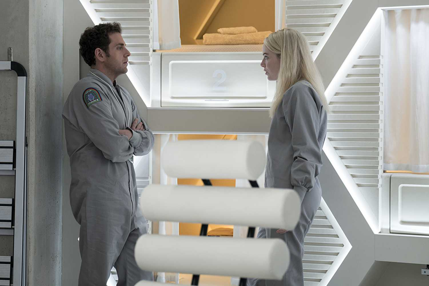'Maniac' sees Jonah Hill and Emma Stone reunited for the first time since 'Superbad' (Source: IMDb)