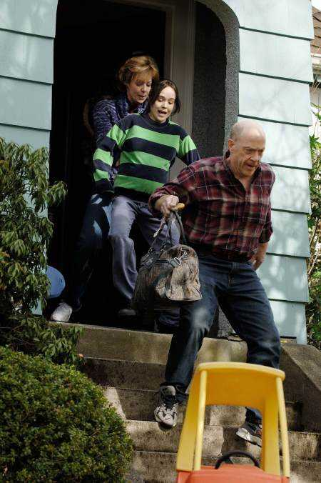 Simmons plays the role of the amiable, supportive father in the 2007 movie 'Juno'. (IMDb)