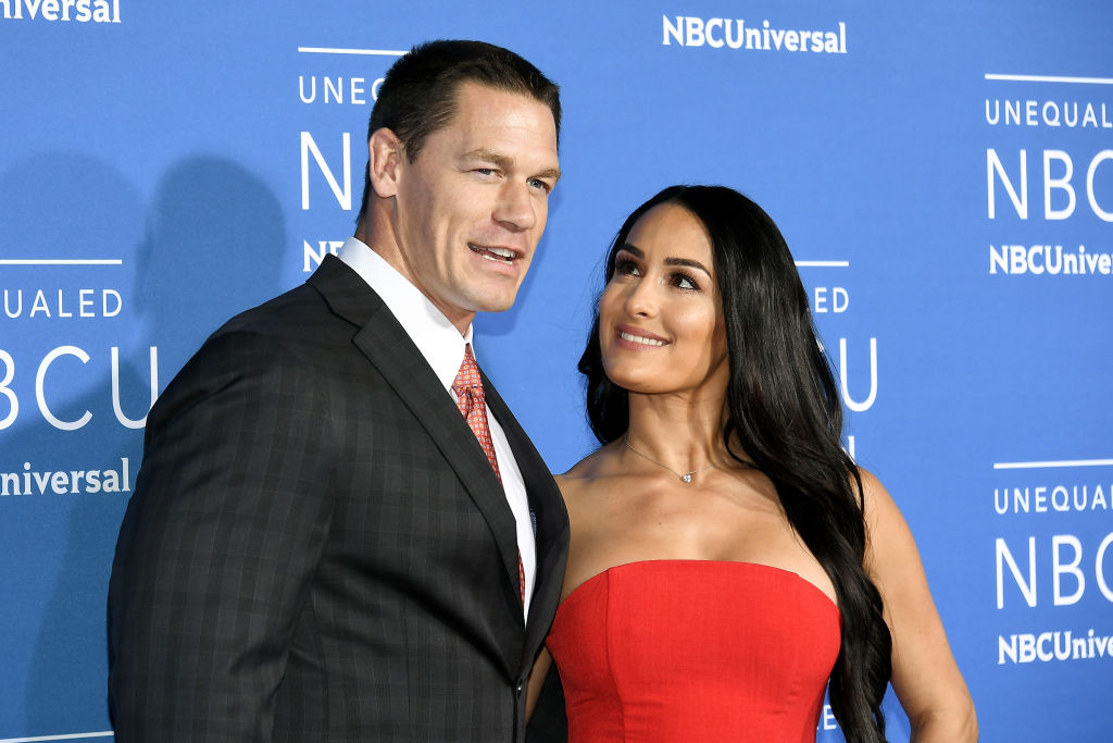 John Cena and Nikki Bella (Source: Getty Images)