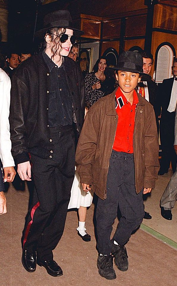 Michael Jackson and Jordy Chandler (Source: Facebook)