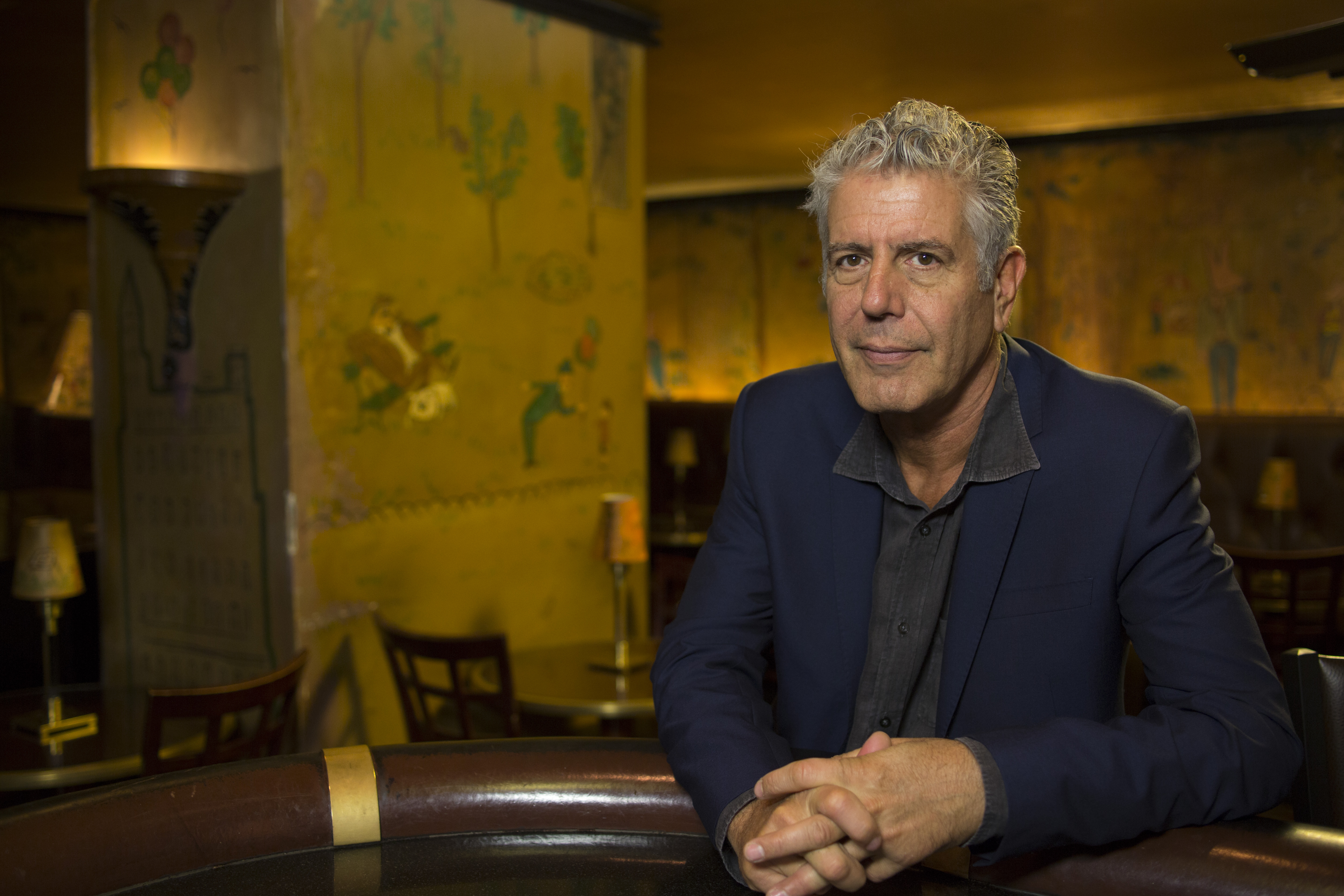 Always at The Carlyle - Anthony Bourdain (Justin Bare)