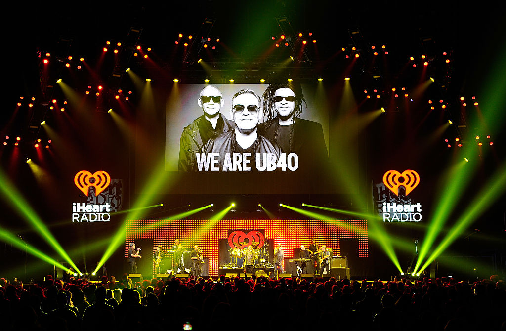 UB40 performs on stage during the iHeart80s Party 2017 at SAP Center on January 28, 2017 in San Jose, California. (Photo by Steve Jennings/Getty Images for iHeartMedia)