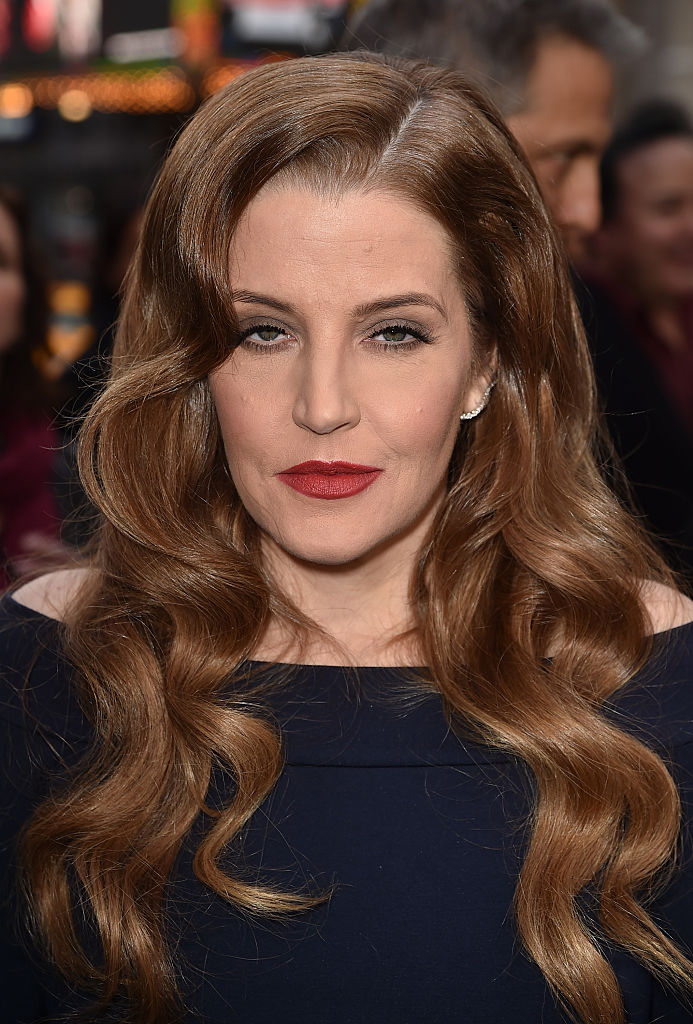 Lisa Marie Presley attends the premiere of Warner Bros. Pictures' 'Mad Max: Fury Road' at TCL Chinese Theatre on May 7, 2015, in Hollywood, California (Source: Kevin Winter/Getty Images)