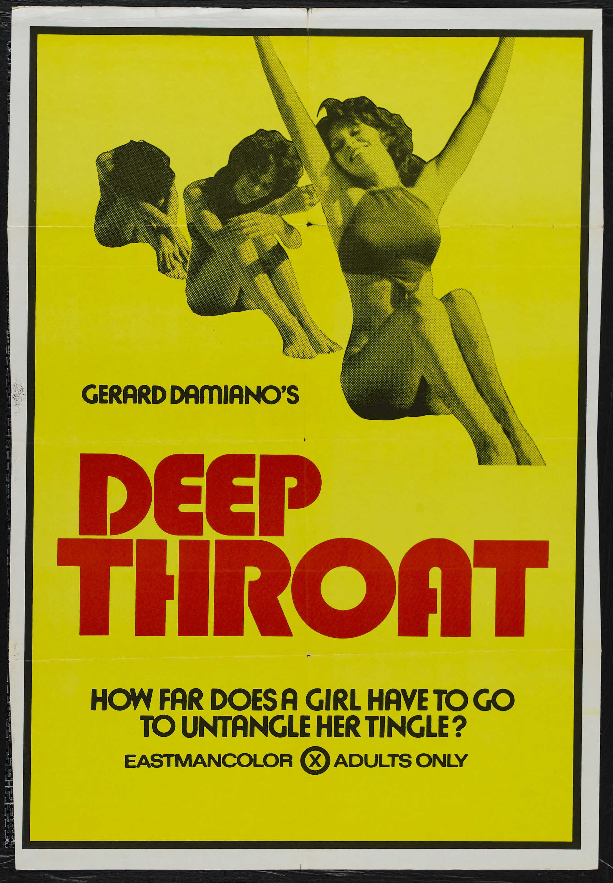 'Deep Throat' poster (Wiki Commons)
