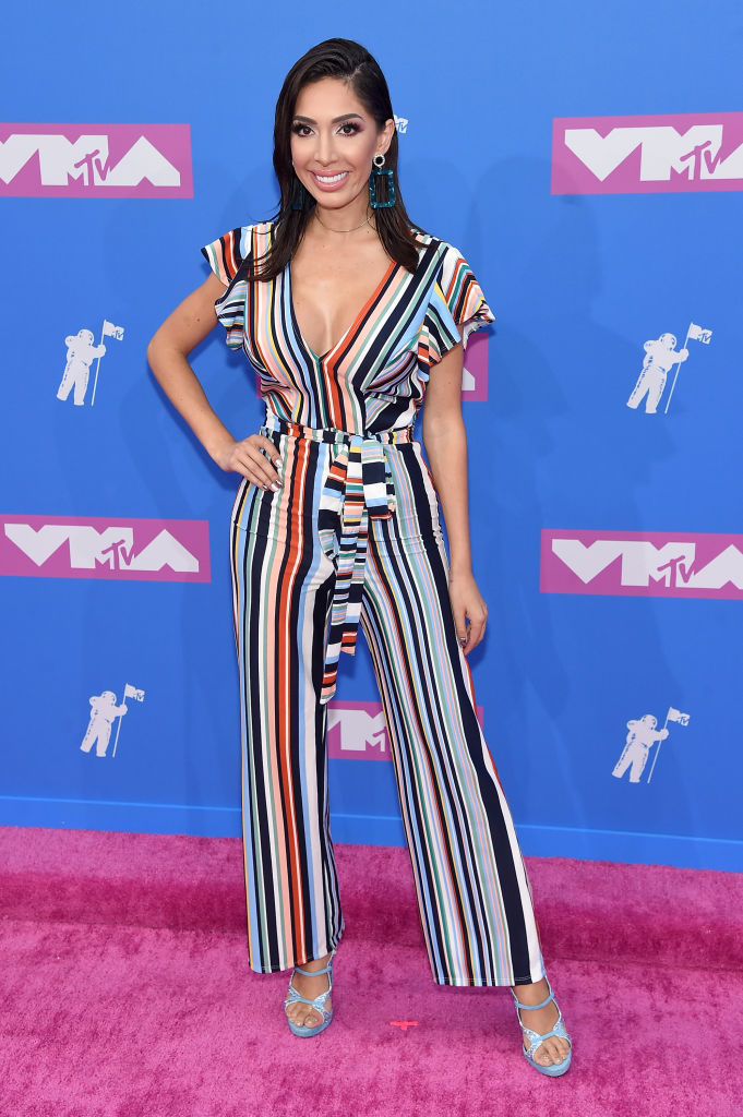 Farrah Abraham attends the 2018 MTV Video Music Awards at Radio City Music Hall on August 20, 2018, in New York City. (Getty Images)