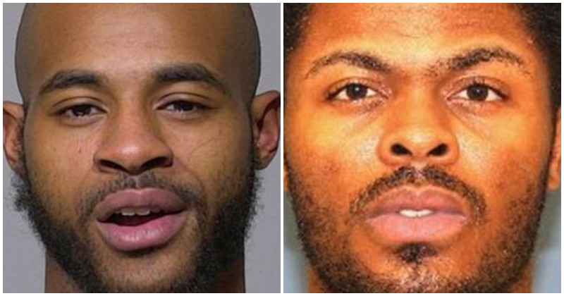 Barnes (left) and Oden (right) have been charged in the killing (Source: Milwaukee Police Department)
