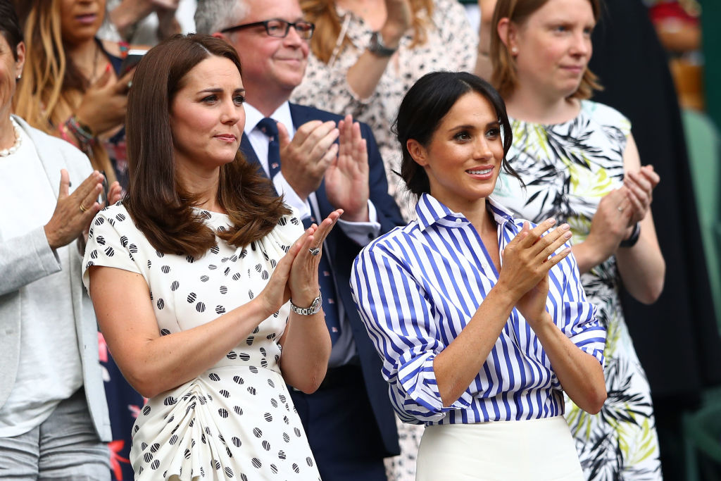 Meghan's reputation has also taken a hit because of rumors of a rift with Kate Middleton (Source: Michael Steele/Getty Images)