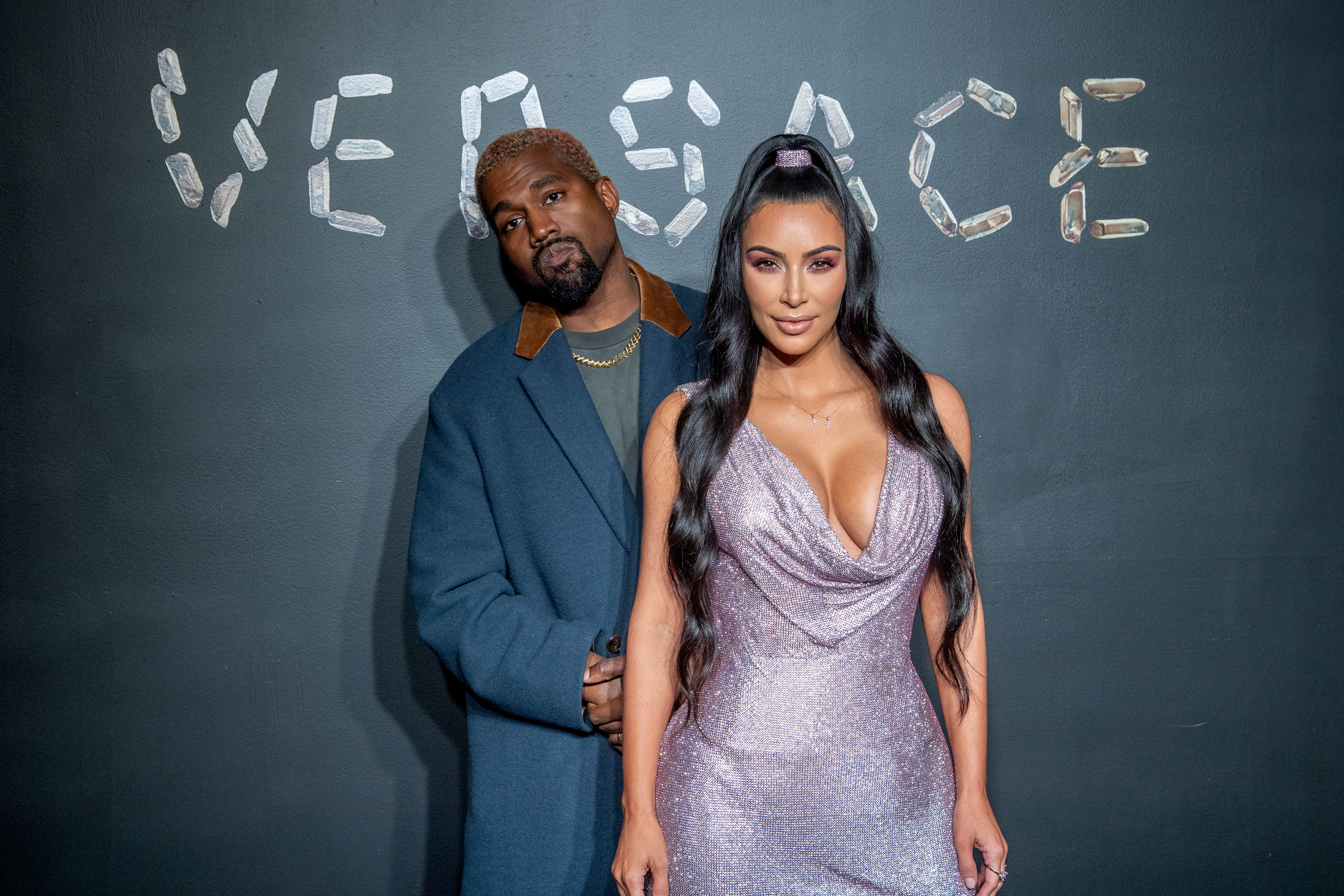Kanye West and Kim Kardashian (Source: Getty Images)