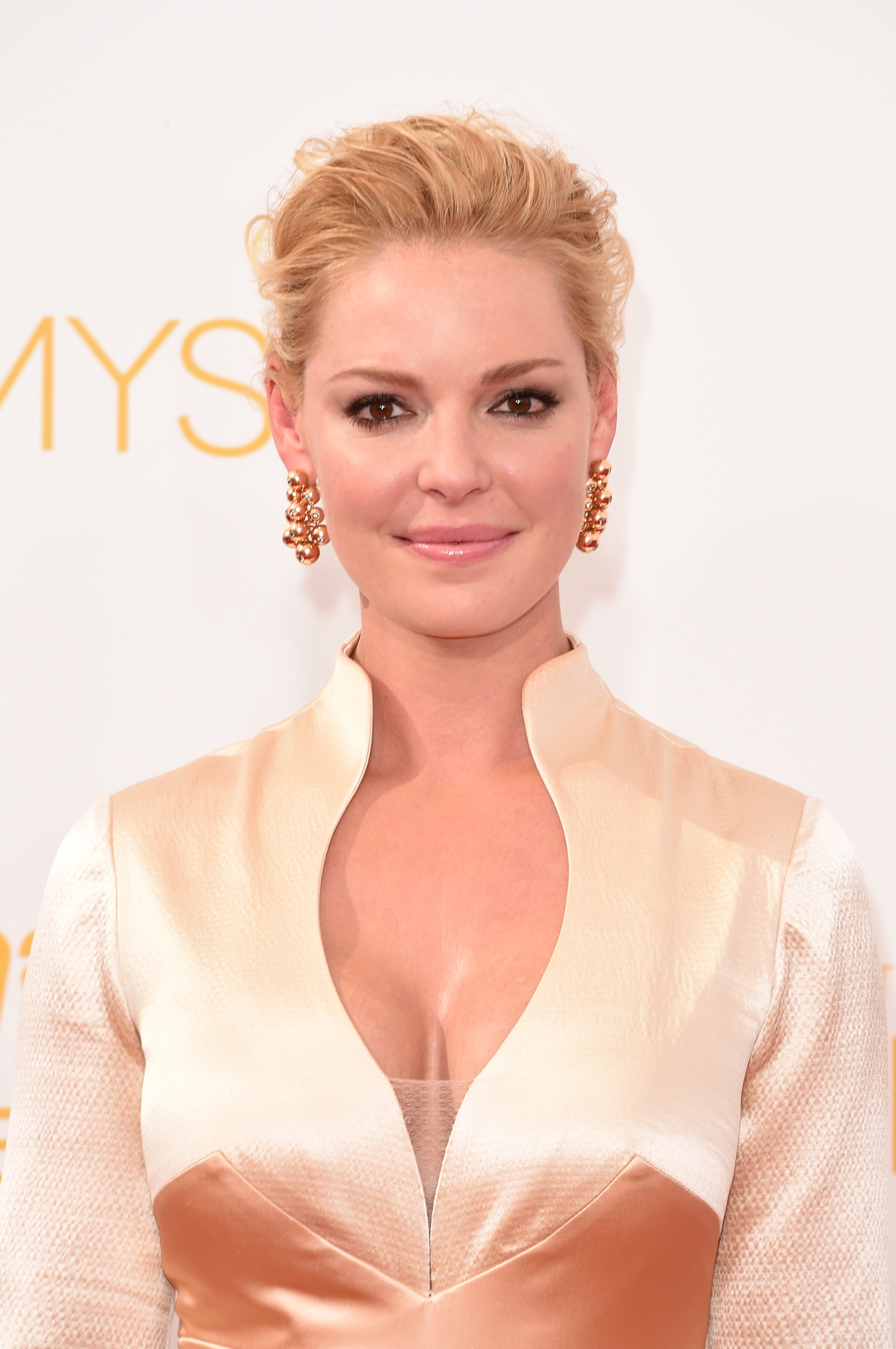 Actress Katherine Heigl attends the 66th Annual Primetime Emmy Awards held at Nokia Theatre L.A. Live on August 25, 2014, in Los Angeles, California. (Getty Images)