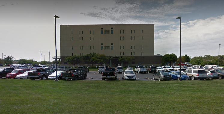 Murphy is being held at the Pottawattamie County Jail (Source: Google Maps)
