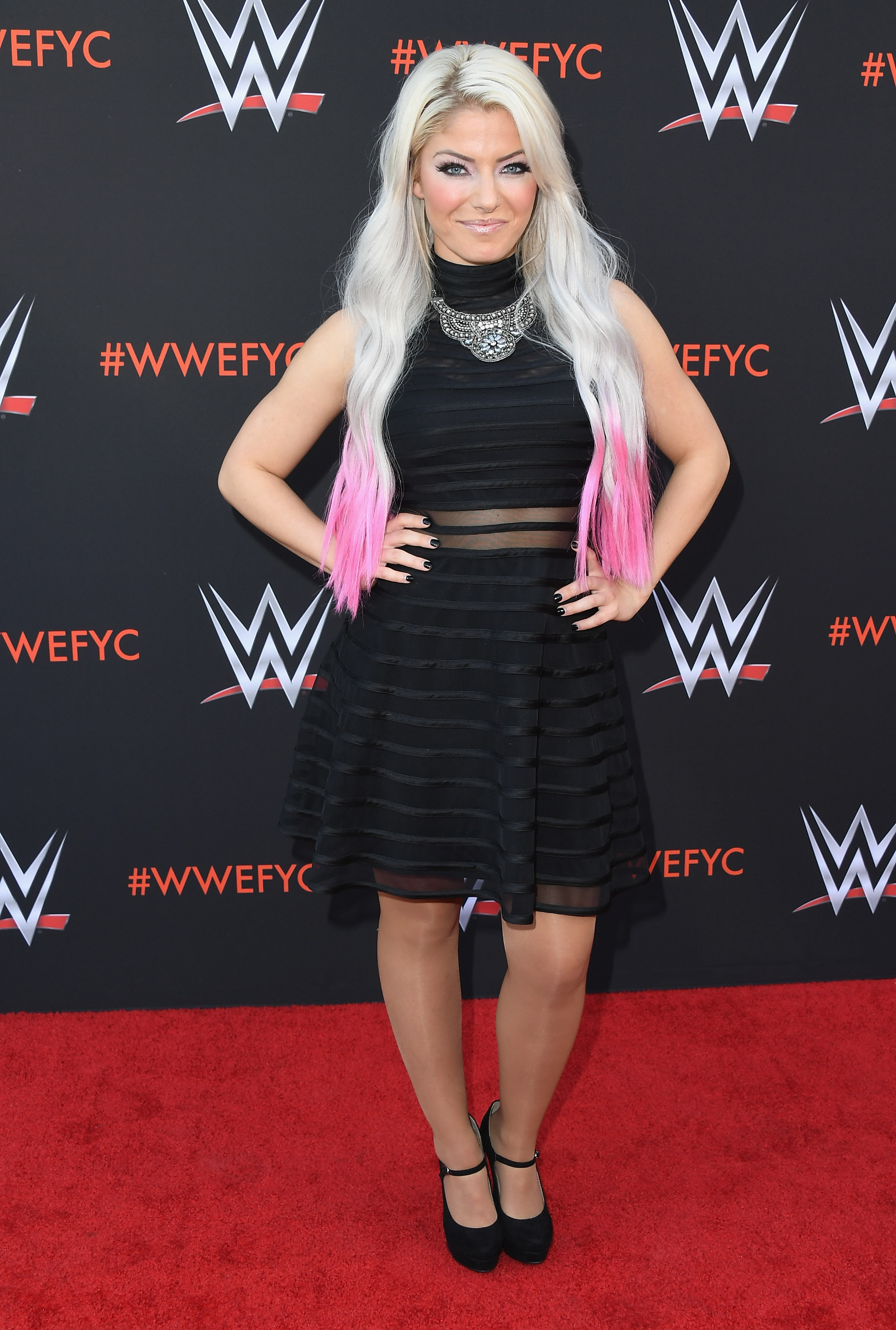 Alexa Bliss attends WWE's First-Ever Emmy 'For Your Consideration' Event at Saban Media Center on June 6, 2018 in North Hollywood, California. (Getty Images)