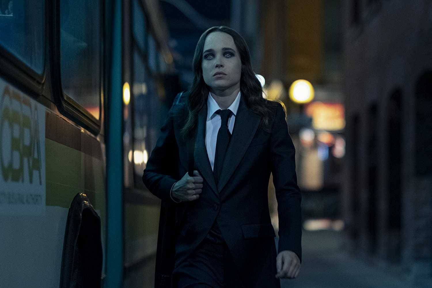 Ellen Page as Vanya Hargreeves aka The White Violin in Netflix's 'The Umbrella Academy'. (Source: IMDB)